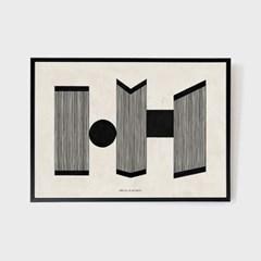호텔마지크 아트 포스터 A3 - 레트로 NO.2