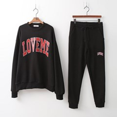 [SET] Me Sweatshirt +  Jogger Pants