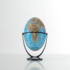 15cm 무한회전 지구본 블루(한영판)