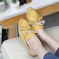 kami et muse Ribbon rich tessle stitch slippers_KM19s048