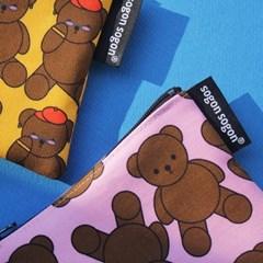 Teddy bear pouch