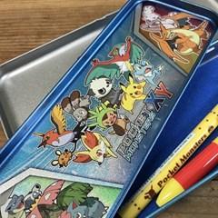 [일본]포켓 몬스터 철제필통 펜케이스 -363309