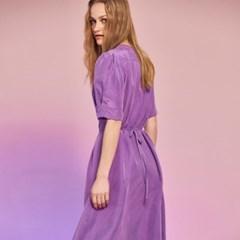 [8/16 예약순차배송]Cupra Button Dress in Purple
