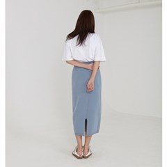simple knit skirt (3colors)_(1227117)