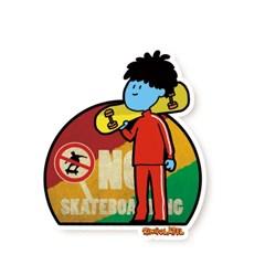 보라이프-스케이트보드 캐리어스티커 노트북 데코 PVC 방수 스티커