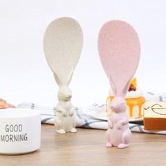 스탠딩 토끼 주걱(색상 랜덤발송)