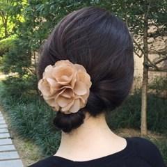 Voluminous flower hairpin(파티 꽃 헤어핀)