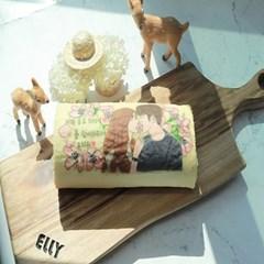 🌸벚꽃 커스텀 롤케이크(풀사이즈)🌸