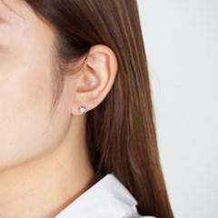 반짝별 라운드 귀걸이