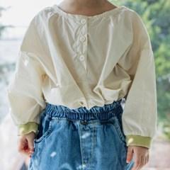 바람막이겸용 아동 티셔츠