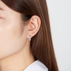 눈꽃 심플 드롭 귀걸이