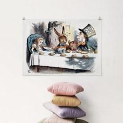 패브릭 포스터 F259 그림 액자 이상한 나라의 앨리스 F