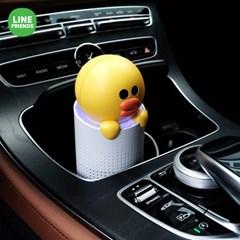 [클레어] 라인프렌즈 브라운&샐리 차량용 공기청정기