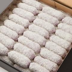 [행복담은식탁] 아이간식 찰떡 블루베리찰떡 1.6kg (30gx53알)