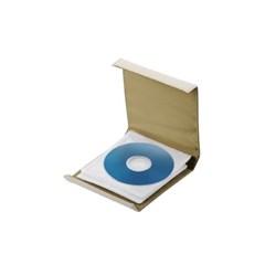 앨범형 디스크 CD 케이스 12매 화이트_(891259)