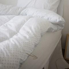 컴포트 누빔 워싱면 침대매트커버