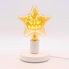 LED 에디슨 별 눈꽃 전구 3W_(1179499)
