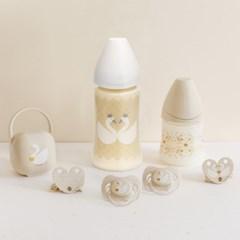 [스와비넥스] NEW 화이트컬렉션 노리개젖꼭지 1단계 (실리콘)