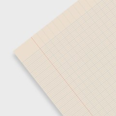 Line graph pad_Blue