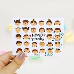 짝궁 카드 (30매)