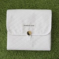 휴대용 방수 기저귀매트 - 파우치형