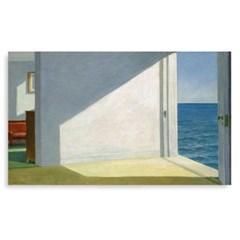 에드워드호퍼 명화캔버스 Rooms By The Sea