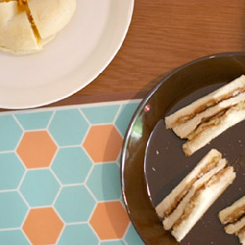 Honey pattern - TABLE PAD