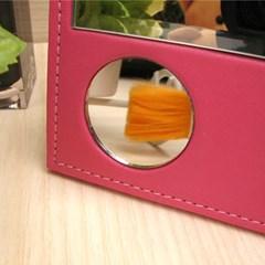 탁상용 가죽 거울