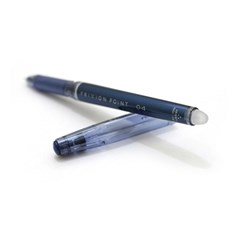 프릭션 포인트04 젤잉크펜-0.4mm–블루 블랙