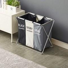 예다움 가정용 분리수거함 재활용 3단 쓰레기 대용량_(1568497)