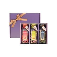 묘약 담금주키트 3구 선물세트 보자기포장(종류선택) 500ml X 3ea