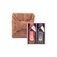 묘약 담금주키트 2구 선물세트(종류/보자기포장 선택) - 500ml X 2ea