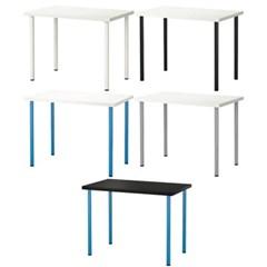 이케아 LINNMON / ADILS 테이블 상판+다리(100x60 cm)_(701567744)