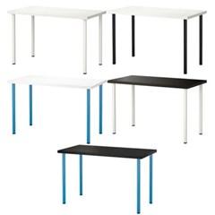 이케아 LINNMON / ADILS 테이블 상판+다리(120x60 cm)_(701567743)