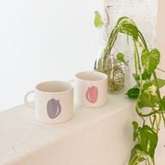 spring mug _ violet tulip