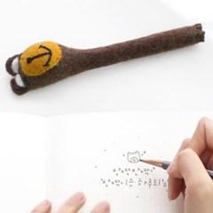 곰돌이 펠트 연필