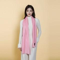 Cosmoprobe-핑크 블러썸-최고급 핸드메이드 캐시미어 스카프