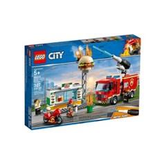 [레고 시티] 60214 햄버거 가게 화재 구조