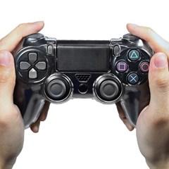 PS4 컨트롤러 크리스탈 커버