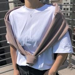 데일리 레터링 티셔츠 [자체제작]