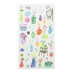 Sticker Marche - Flower vase