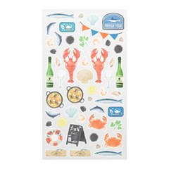 Sticker Marche - Seafood