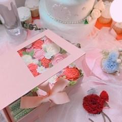 [텐텐클래스] (마포) 클레이 크림 플라워 용돈 박스