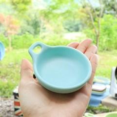 [멜라민웨어] 핸들 종지-예쁜그릇 캠핑식기 유아식기