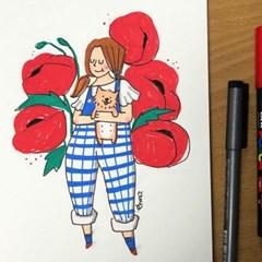[텐텐클래스] (서초) 쪼야의 귀여운 마카 일러스트