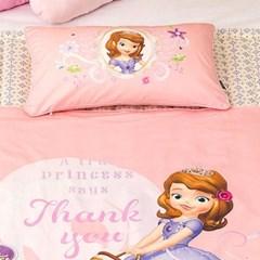 디즈니 소피아 여름용 낮잠이불