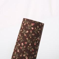 [펠트친구]패브릭스티커 - 나리 브라운[73]