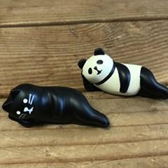 미니어쳐 인테리어소품/판다,고양이 3종