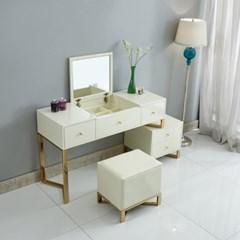 화이트 화장대 프리마 (의자별매)
