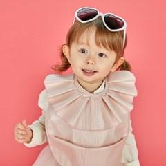 [벨몽] 러블리 러플 방수턱받이-세인트 핑크